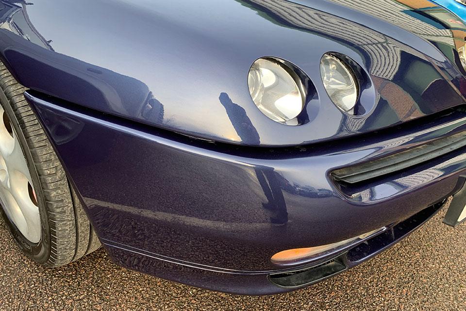Alfa Romeo Paintwork Restoration