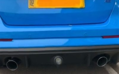 Maxton Aero kit fitted to Focus RS