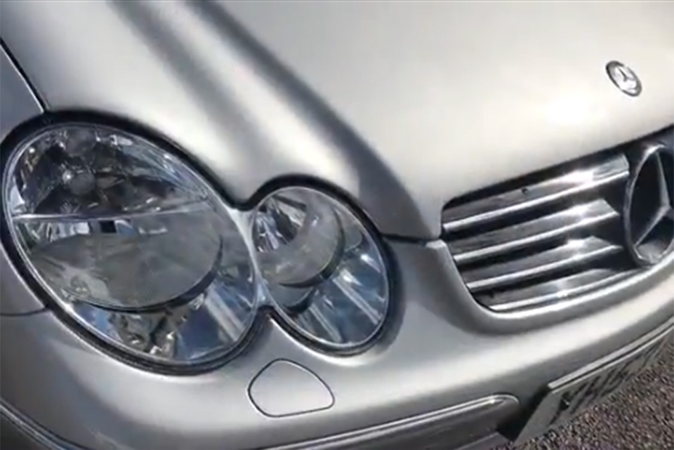 Mercedes CLK Accident Damage Repair