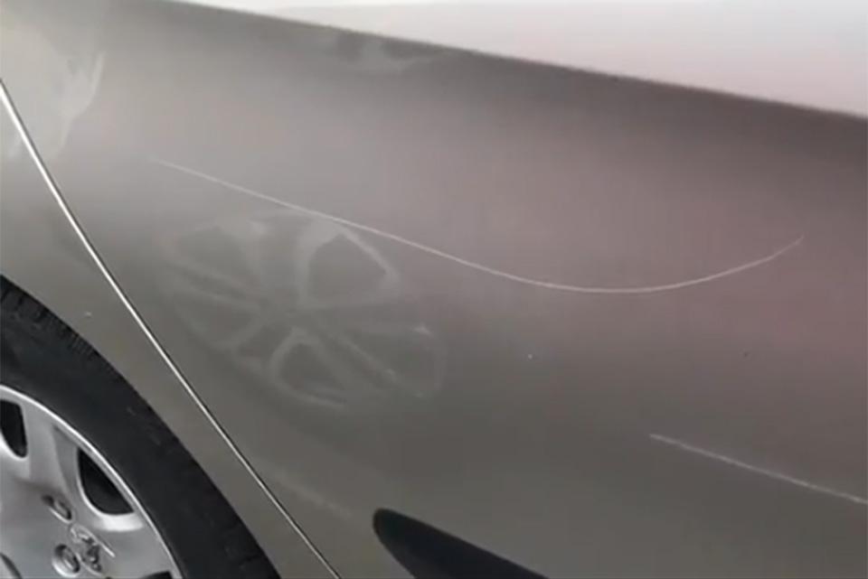Peugeot 308 Vandal Damage Insurance Repair
