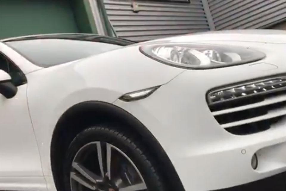Porsche Cayenne Accident Damage Bodywork Repair