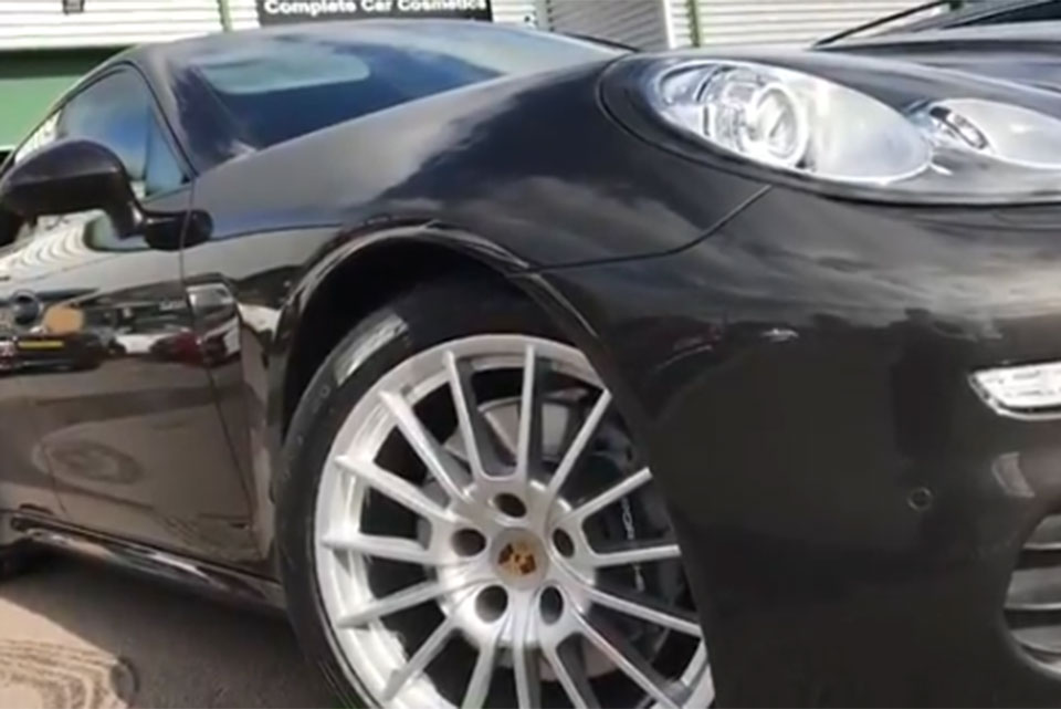 Porsche Panamera Back To Showroom Condition