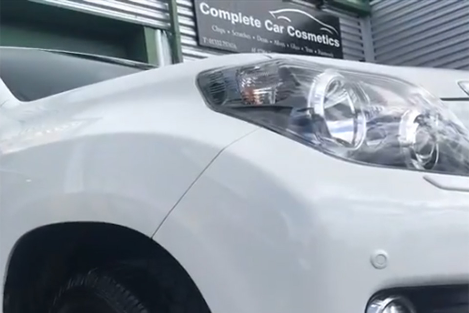 Toyota Landcruiser Repaired and Painted