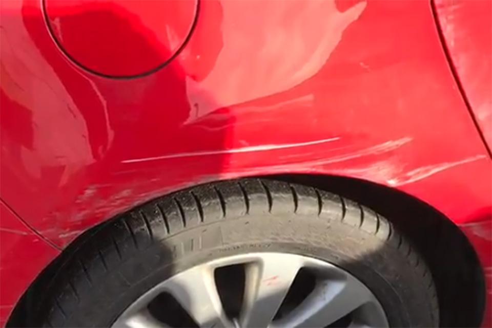 Vauxhall Astra Rear Quarter Bumper and Door Repair