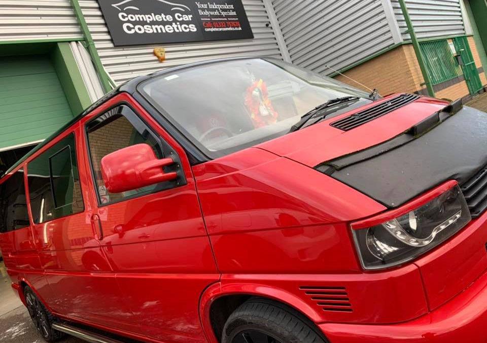 VW Transporters transformed