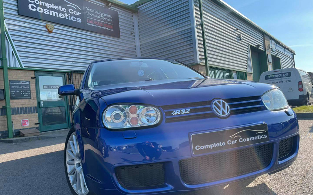 Stunning Golf R32 fully defying its 17 years of age