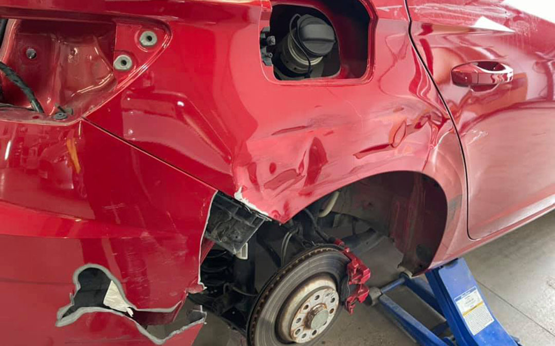 Seat Leon accident damage repaired to perfect pre-accident condition