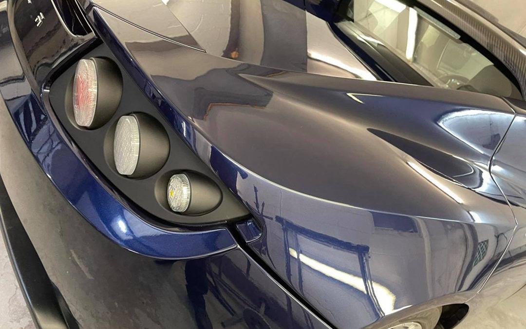 Full decontamination, polish & ceramic coating for very rare Tesla